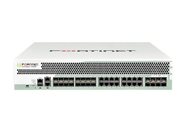 Fortinet FortiGate 1500D Security Appliance - 3-Yr ASE FC&FG 360 Protection