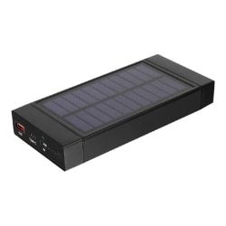 Aluratek APBQ16F solar power bank - Li-Ion