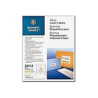 Business Source - address labels - 2000 label(s) - 1 in x 1.75 in