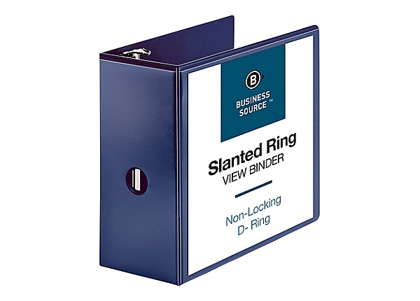 Business Source - presentation ring binder