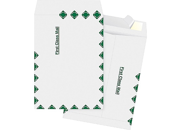 Business Source DuPont Tyvek - envelope - catalog - 9.02 in x 12 in - open
