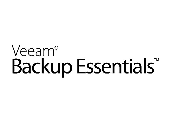 Veeam Backup Essentials Enterprise for VMware - license + 1 Year Production
