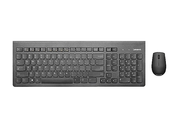 Lenovo 500 Wireless Combo - keyboard and mouse set - US