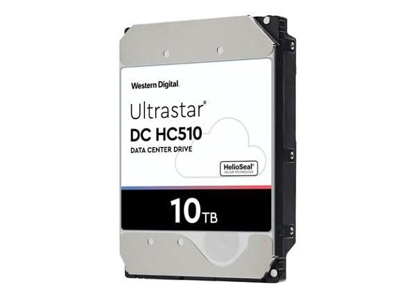 WD Ultrastar DC HC510 HUH721010ALE604 - hard drive - 10 TB - SATA 6Gb/s