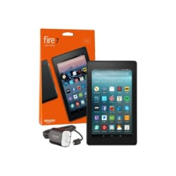 "Amazon Fire 7 7"" Quad-Core 1GB RAM 32GB Fire OS 6 - Black"