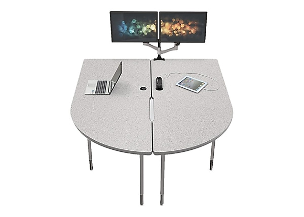 MooreCo MediaSpace Multimedia & Collaboration Large Double - table