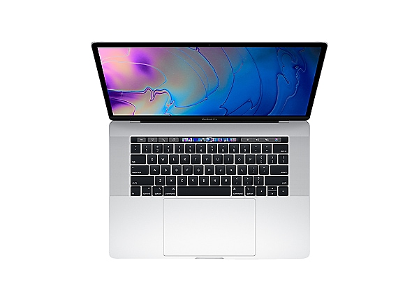 """Apple MacBook Pro 15"""" Core i9 2.4GHz 32GB 2TB 555X - Touch Bar - Silver"""