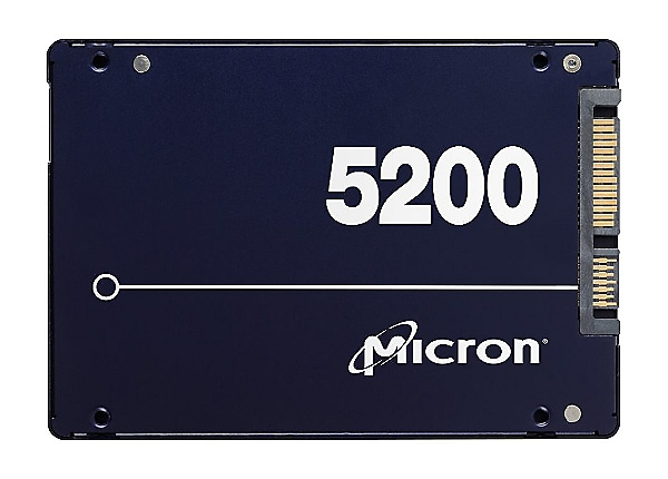 Micron 5200 series PRO - solid state drive - 3.84 TB - SATA 6Gb/s