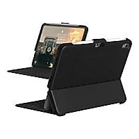 UAG Rugged Case for iPad Pro 11-inch - Scout Black - back cover for tablet