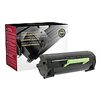 Clover Remanufactured Toner for Lexmark MS417/517, Black, 8,500 page yield