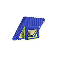 "Gumdrop Hideaway Protective Case for iPad 9.7"" - Royal Blue/Lime - 10-Pack"