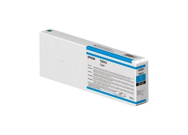 Epson T8042 - cyan - original - ink cartridge