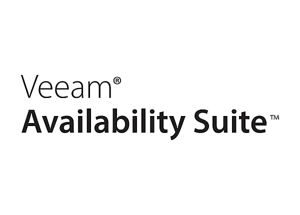 Veeam Availability Suite Enterprise - license + Production Support - 1 CPU