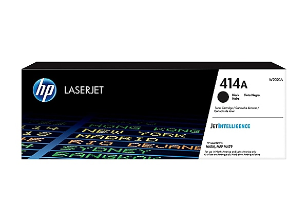 HP 414A - black - original - LaserJet - toner cartridge (W2020A)