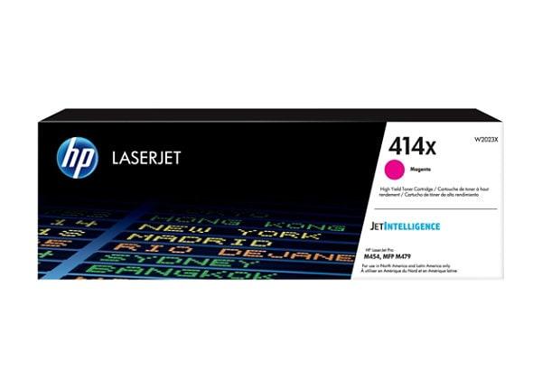 HP 414X - High Yield - magenta - original - LaserJet - toner cartridge (W20