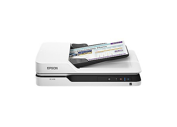 Epson DS-1630 Flatbed Color Document Scanner - Recertified