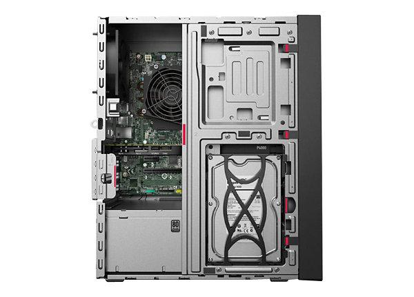 Lenovo ThinkStation P330 - tower - Core i7 8700 3.2 GHz - 32 GB - 1.256 TB