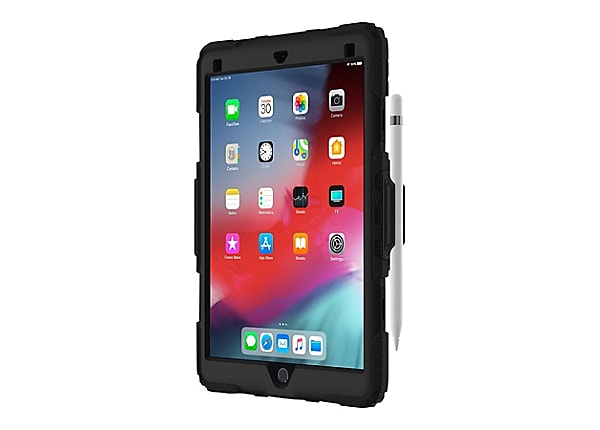Griffin Survivor All-Terrain Case with Kickstand for iPad Air - Black/Clear