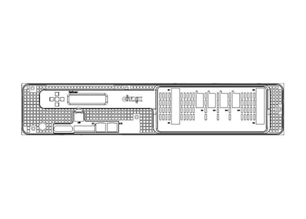 Citrix ADC Zero Capacity SDX 15000Z-50G 2U Application Delivery Controller
