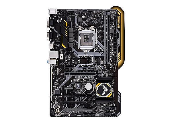 ASUS TUF H310-PLUS GAMING - motherboard - ATX - LGA1151 Socket - H310