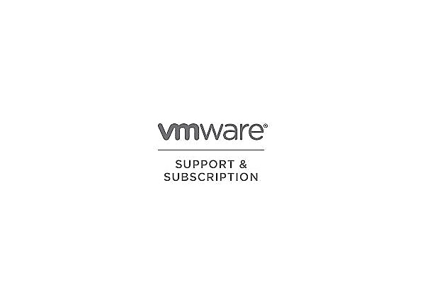 VMware Support and Subscription Basic - technical support - for VMware Boxe