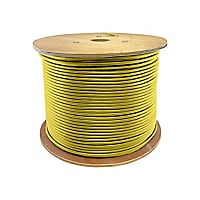 Proline 1000ft Non-terminated Yellow OS2 6-Strand OFNR Fiber Patch Cable