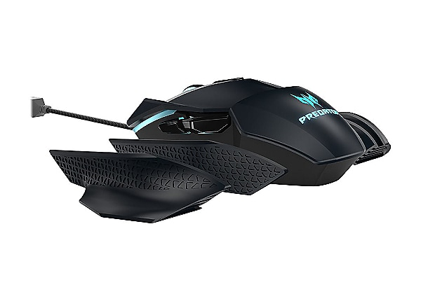 Acer Predator Gaming PMW730 - mouse - USB - black