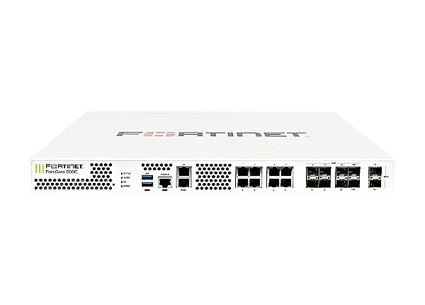 Fortinet FortiGate 501E - security appliance - with 1 year 360 Protection B
