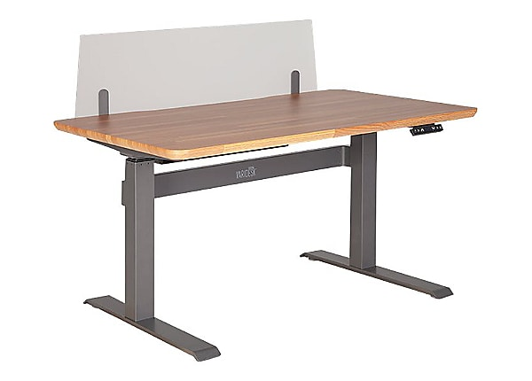 VARIDESK ProDesk Electric 48 - table modesty panel - frosted clear