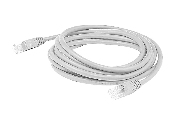 Proline 30ft RJ-45 (M)/RJ-45 (M) Straight White Cat6 UTP PVC Patch Cable