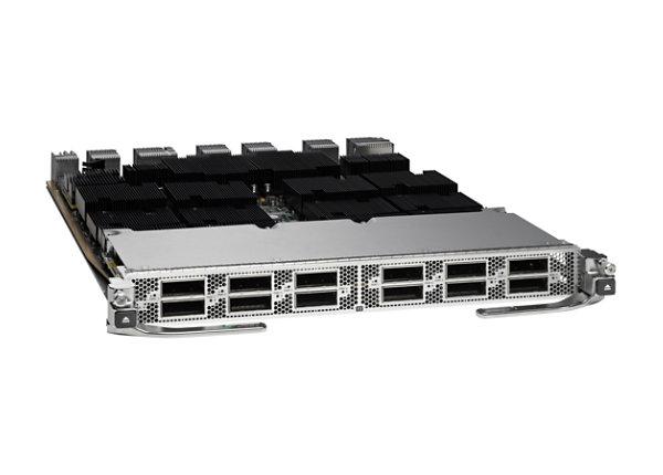 Cisco Nexus 7700 F3-Series 12-Port 100 Gigabit Ethernet Module - expansion