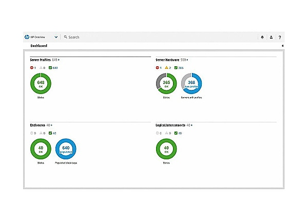HPE OneView with iLO Advanced - license + 3 Years 24x7 Support - 16 physica