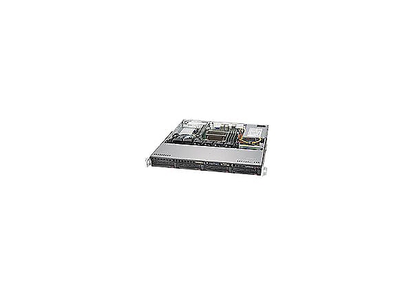 Supermicro SC813M FTQC-350CB2 - rack-mountable - 1U - ATX