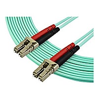 StarTech.com 7 m OM4 LC to LC Multimode Duplex Fiber Optic Patch Cable - Aq