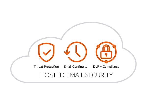 SonicWall Hosted Email Security Advanced - subscription license (3 years) +