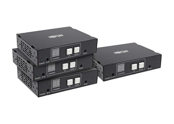 Tripp Lite DVI / HDMI Over Cat5/6 Splitter Extender Kit 1080p @ 60Hz IR TAA
