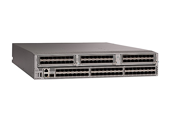 Cisco MDS 9396T - switch - 96 ports - managed - rack-mountable - with 96 x