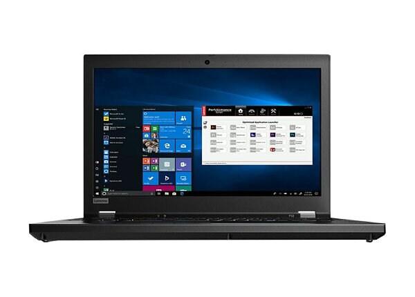 """Lenovo ThinkPad P53 - 15.6"""" - Core i7 9850H - 16 GB RAM - 512 GB SSD - US"""