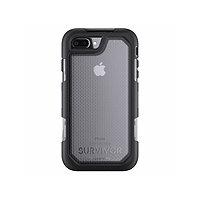 Griffin Survivor Summit Case with Belt Clip for iPhone 7 Plus - Black Clear