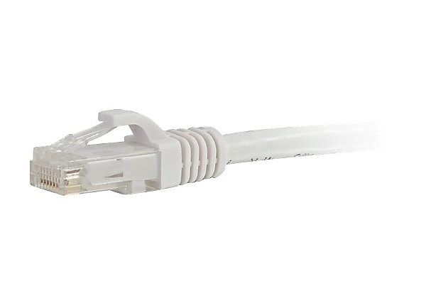 C2G 25ft Cat6a Snagless Unshielded (UTP) Network Patch Ethernet Cable-White