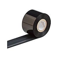 Brady R6000 Series - black - high-heat scratch and solvent resistant ribbon