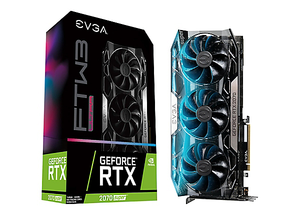 EVGA GeForce RTX 2070 SUPER FTW3 ULTRA GAMING - graphics card - GF RTX 2070