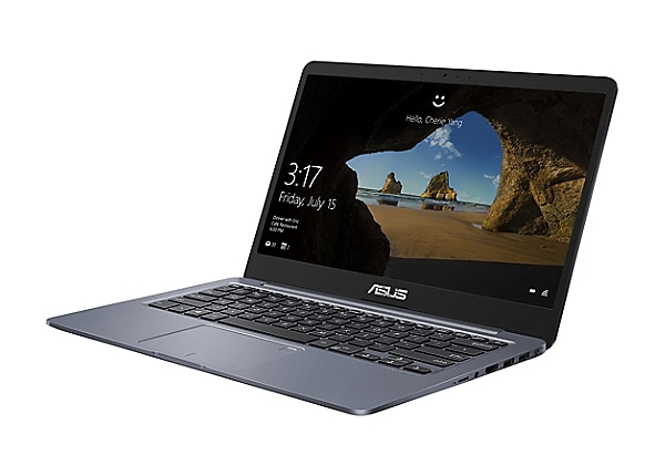 Asus E406MA QP2S - 14 po - Pentium Silver N5000 - 4 GB RAM - 128 GB eMMC - Ca