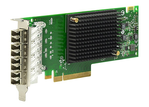 Emulex LPe31004-M6 Gen 6 (16Gb), quad-port HBA - host bus adapter - PCIe 3.
