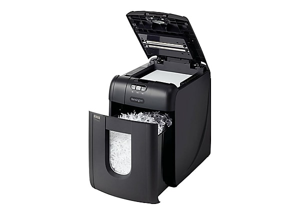 Kensington OfficeAssist Auto Feed Shredder A1300 Anti-Jam Cross Cut - shred