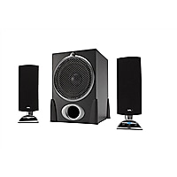 Cyber Acoustics CA-3550RB 2.1-Channel Speaker System