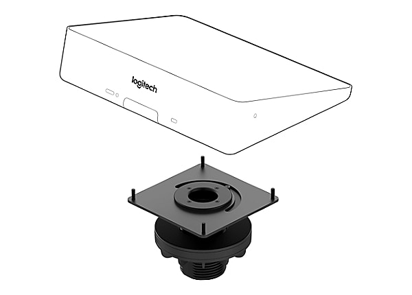Logitech Table Mount video conferencing controller mounting kit