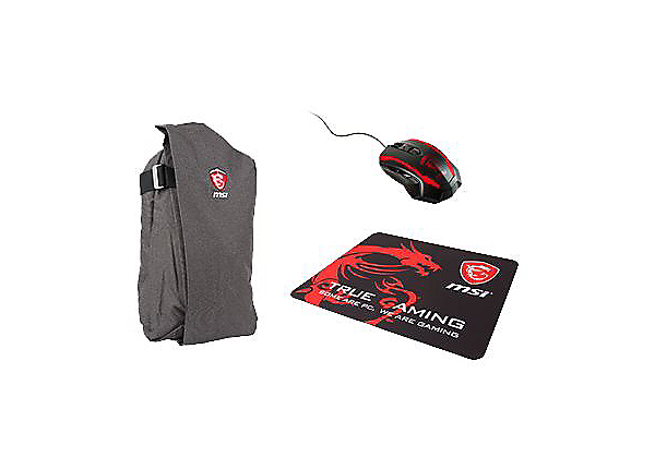 MSI GS/GE/GP Gaming Xmas Pack 2017 notebook accessories bundle