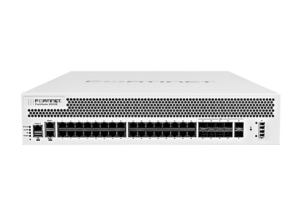 Fortinet FortiGate 2500E - security appliance - with 3 years FortiCare 24X7