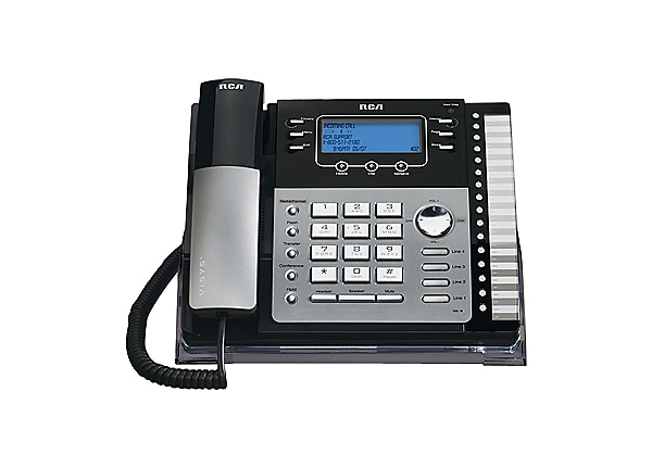 RCA 4-Line Small Business System Desk Phone with Caller ID